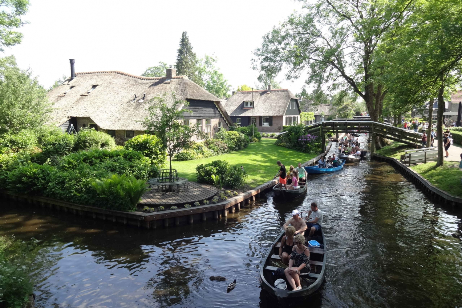 From Day Trip to Giethoorn by Bus and Boat