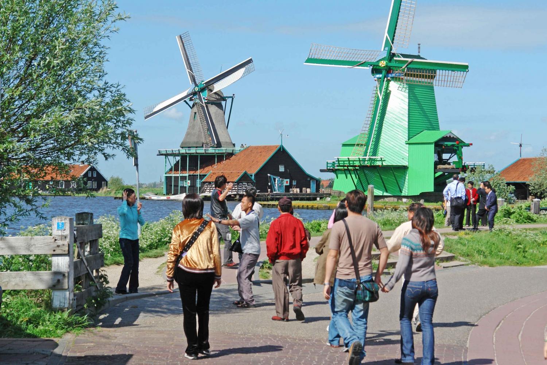 Half-Day Tour of Zaanse Schans Windmills from Amsterdam