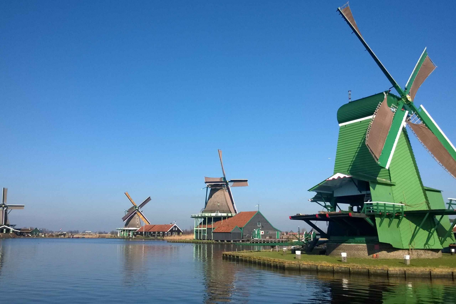 Half-Day Zaan Windmill Dinner Cruise