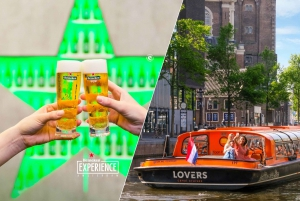 Heineken Experience and 1-Hour Canal Cruise