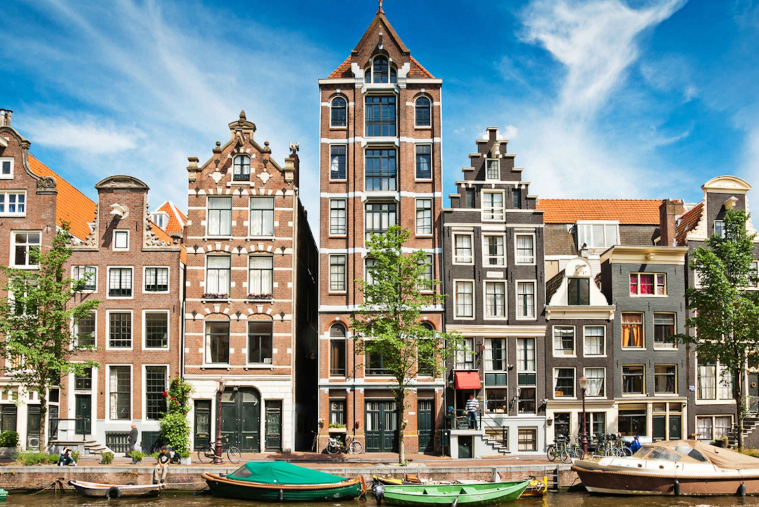 Jordaan, Anne Frank, and Vondelpark Tour in Spanish
