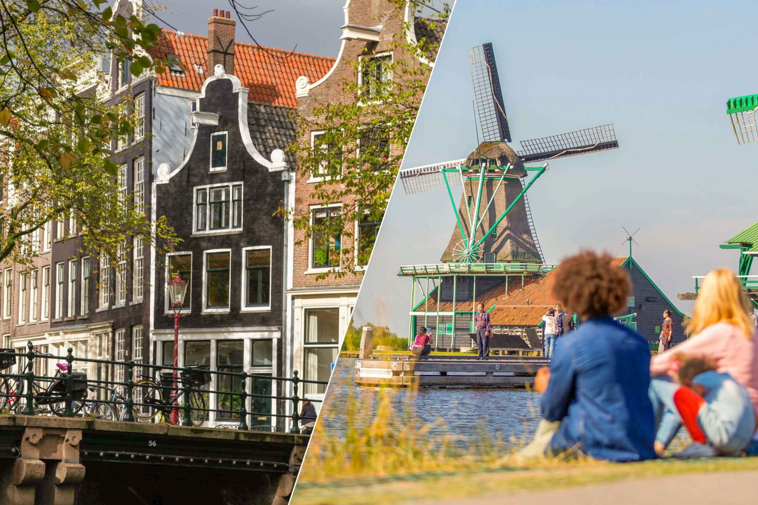 Marken, Volendam, Windmills & Amsterdam Combination Tour