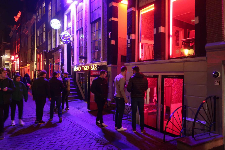 Offbeat Amsterdam Red Light District Walking Tour