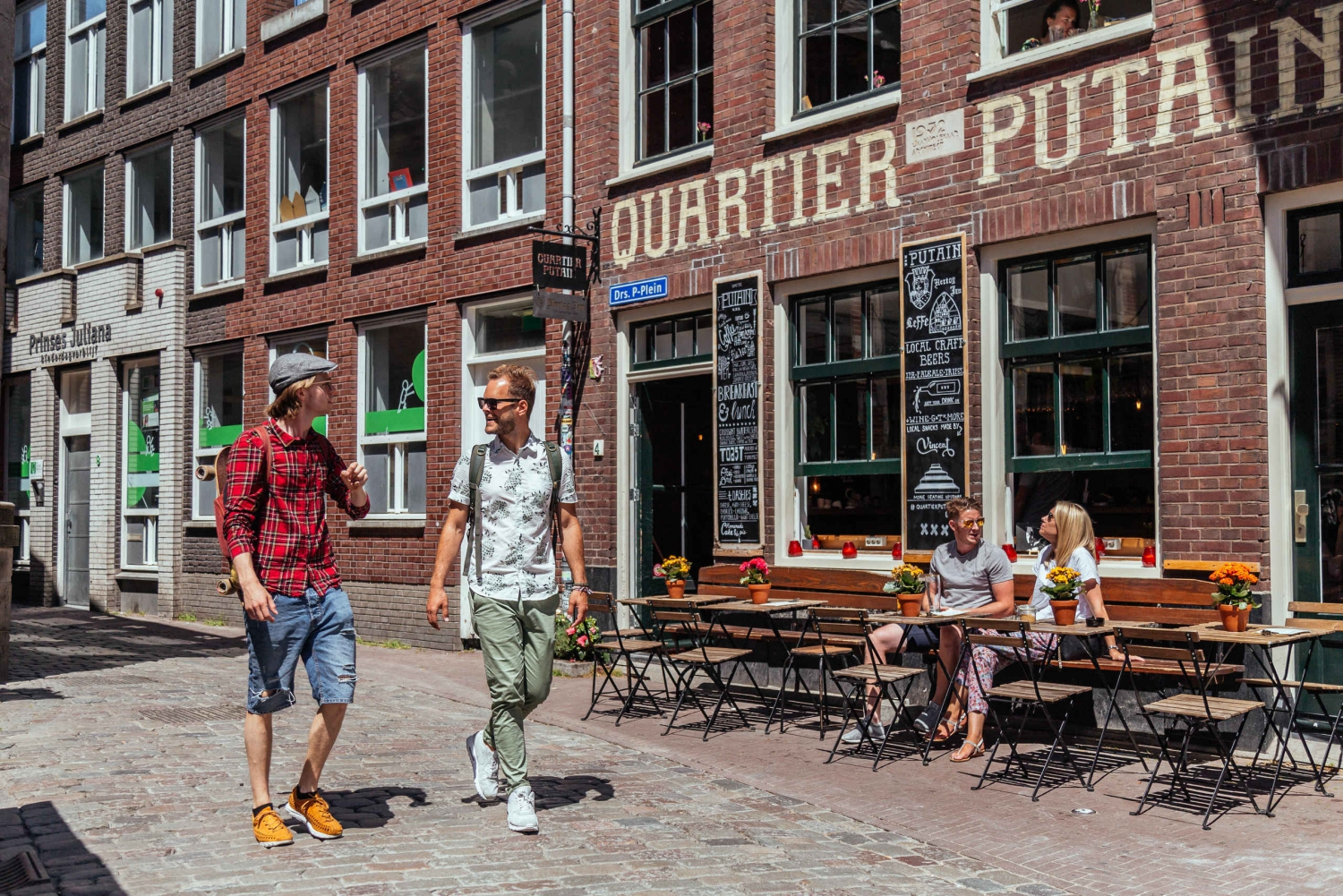 Private Coffeeshops and Red Light District Tour
