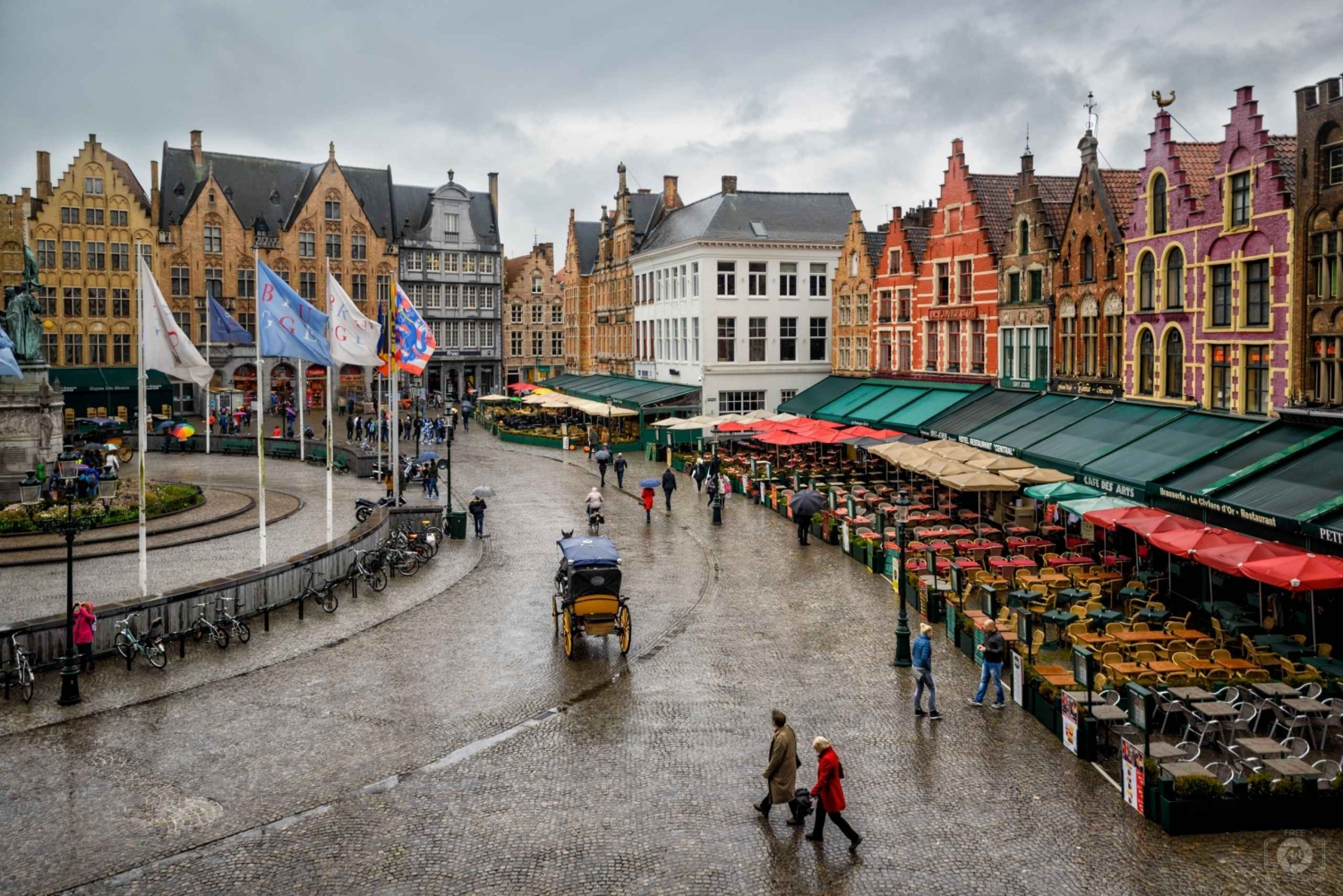 Private Sightseeing Tour to Bruges from Amsterdam