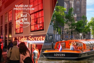 Red Light Secrets Museum and 1-Hour Canal Cruise