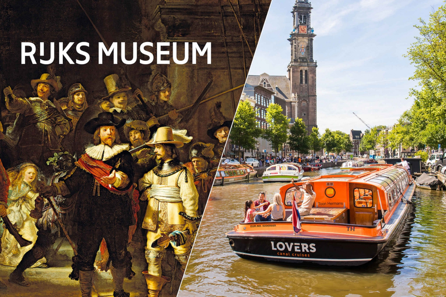 Rijksmuseum: Skip-the-Line Ticket and 1-Hour Cruise