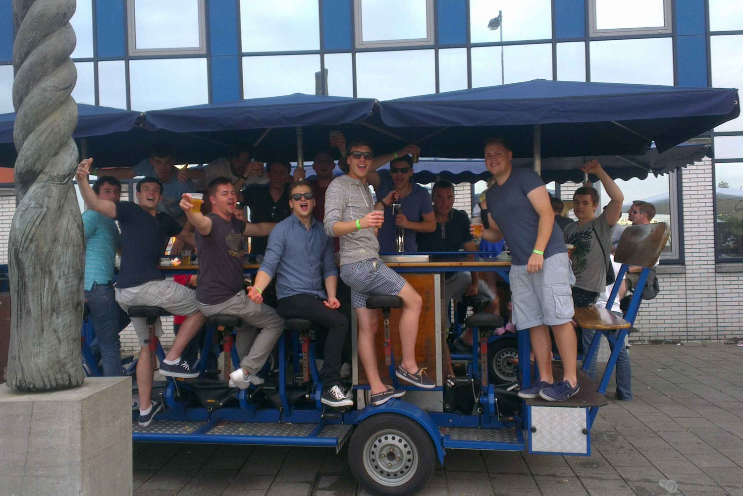 Share-a-Beer-Bike Experience