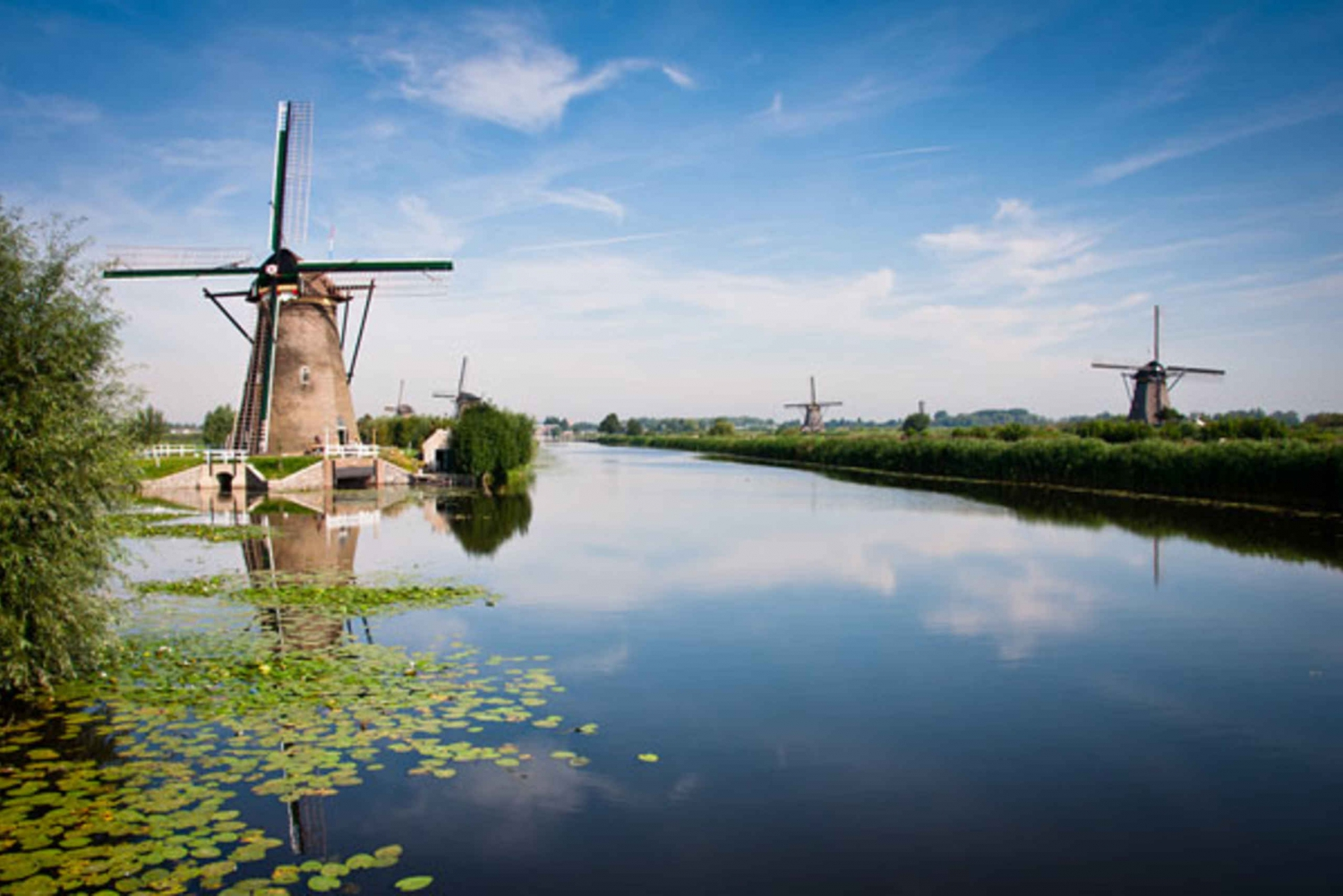 The Netherlands: UNESCO Heritage Sites Private Tour
