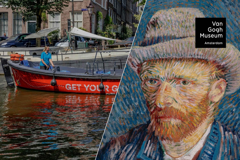 Van Gogh Museum Skip-the-Line Ticket & Open Boat