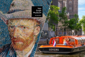 Van Gogh Museum Ticket & Canal Cruise
