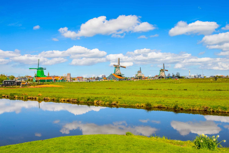 Windmills, Edam, Volendam & Marken Private Spanish Tour