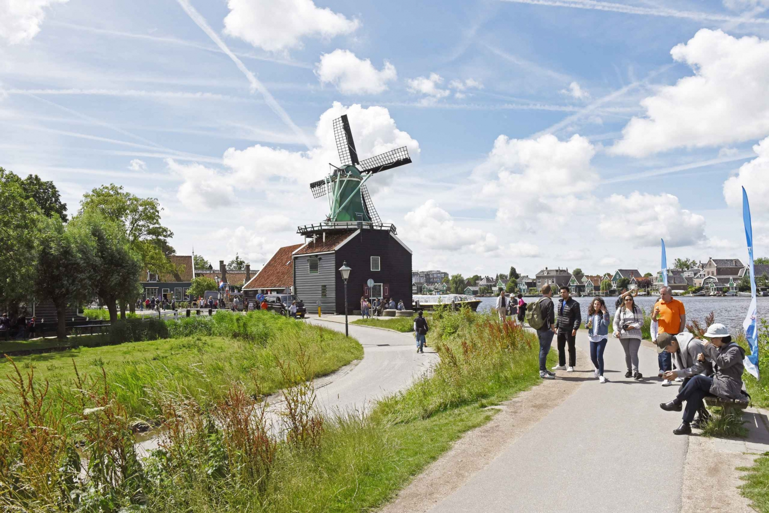 Zaanse Schans: 3–Hour Tour & A'DAM Lookout from Amsterdam