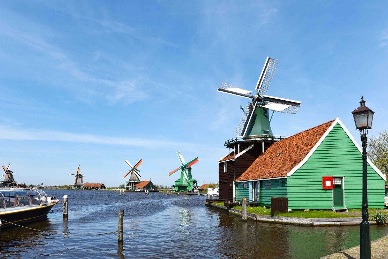 Zaanse Schans Village, Canal Cruise and 5D Flight Combo