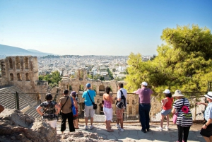 3-Hour Athens Sightseeing & Acropolis Including Entry Ticket