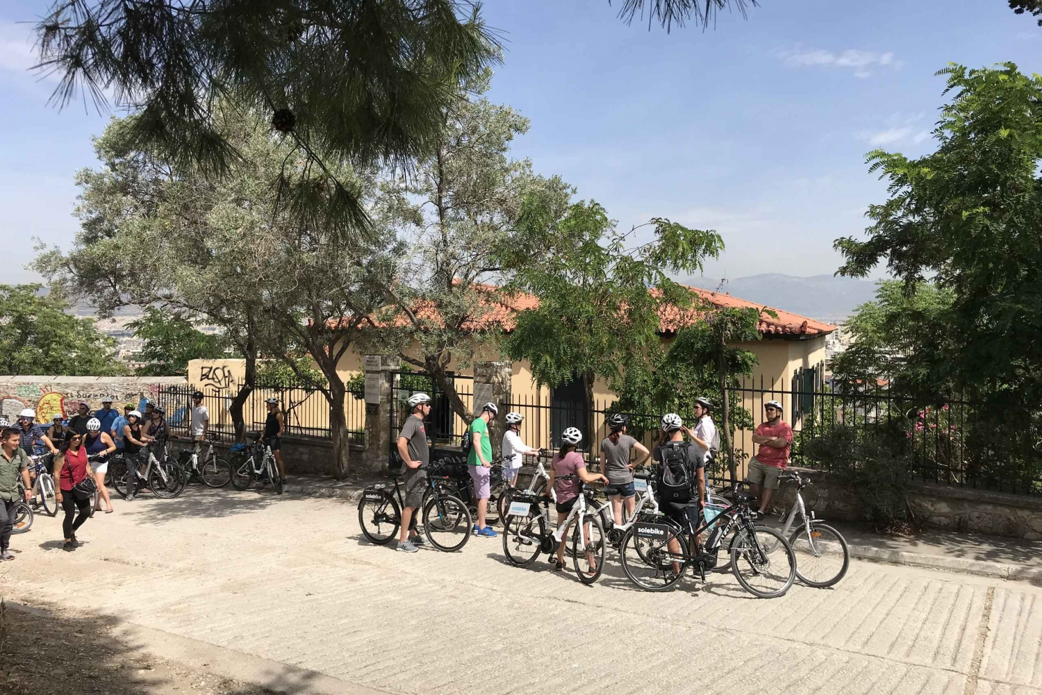 Acropolis and Athens Classic Tour on an Electric Bicycle