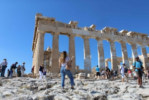 Acropolis and Museum Entry Tickets with Audio Tour