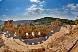 Acropolis Guided Tour and Old Town Food Tasting