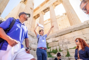 Acropolis: Guided Walking Tour with Entrance Ticket