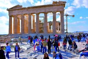 Acropolis, Old Town, Plaka, & Monastiraki Tour