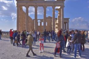 Acropolis, Panathenaic Stadium and Plaka Private Group Tour