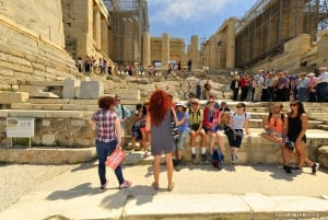 Acropolis, Plaka & Ancient Agora Guided Tour without Tickets