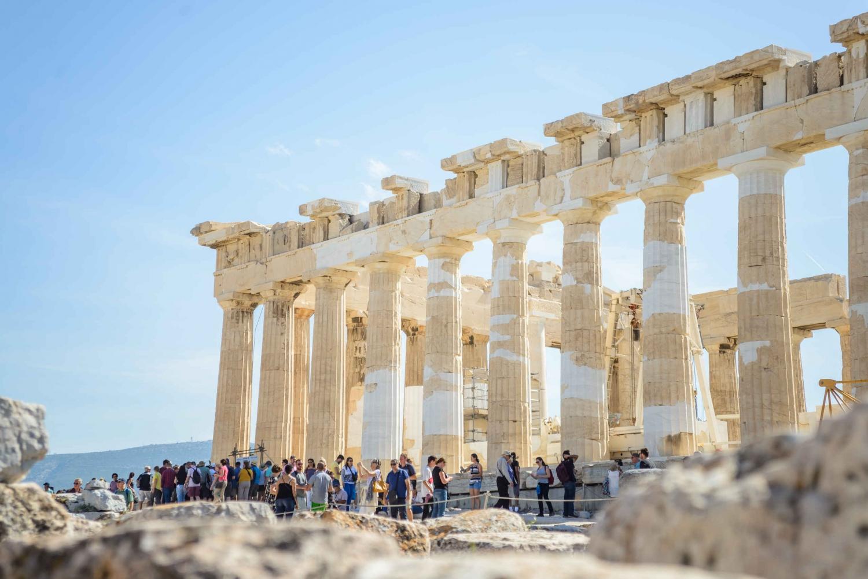 Acropolis Skip-the-Line Ticket & Welcome Walk in Plaka