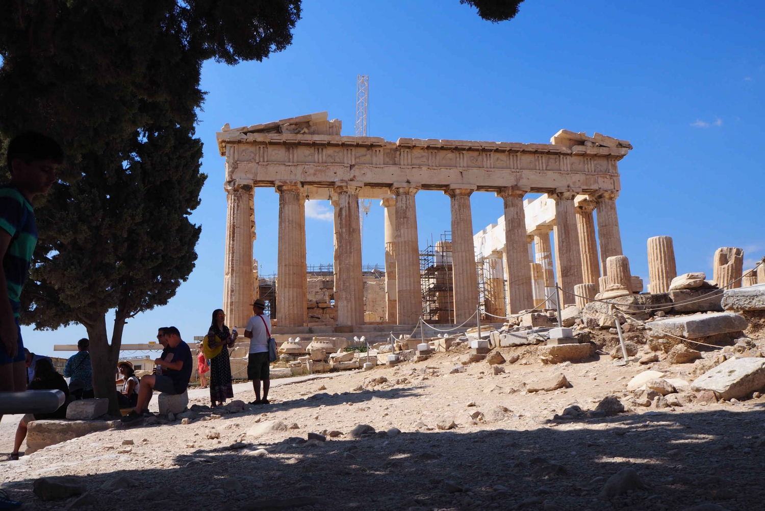 Acropolis Small Group Afternoon Guided Tour without Tickets