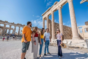 Acropolis Small-Group Guided Tour with Entry Ticket