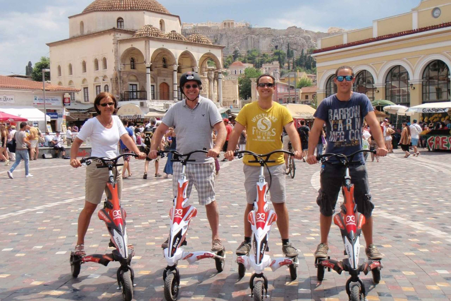 Acropolis Tour & Athens Highlights by Electric Trikke Bike