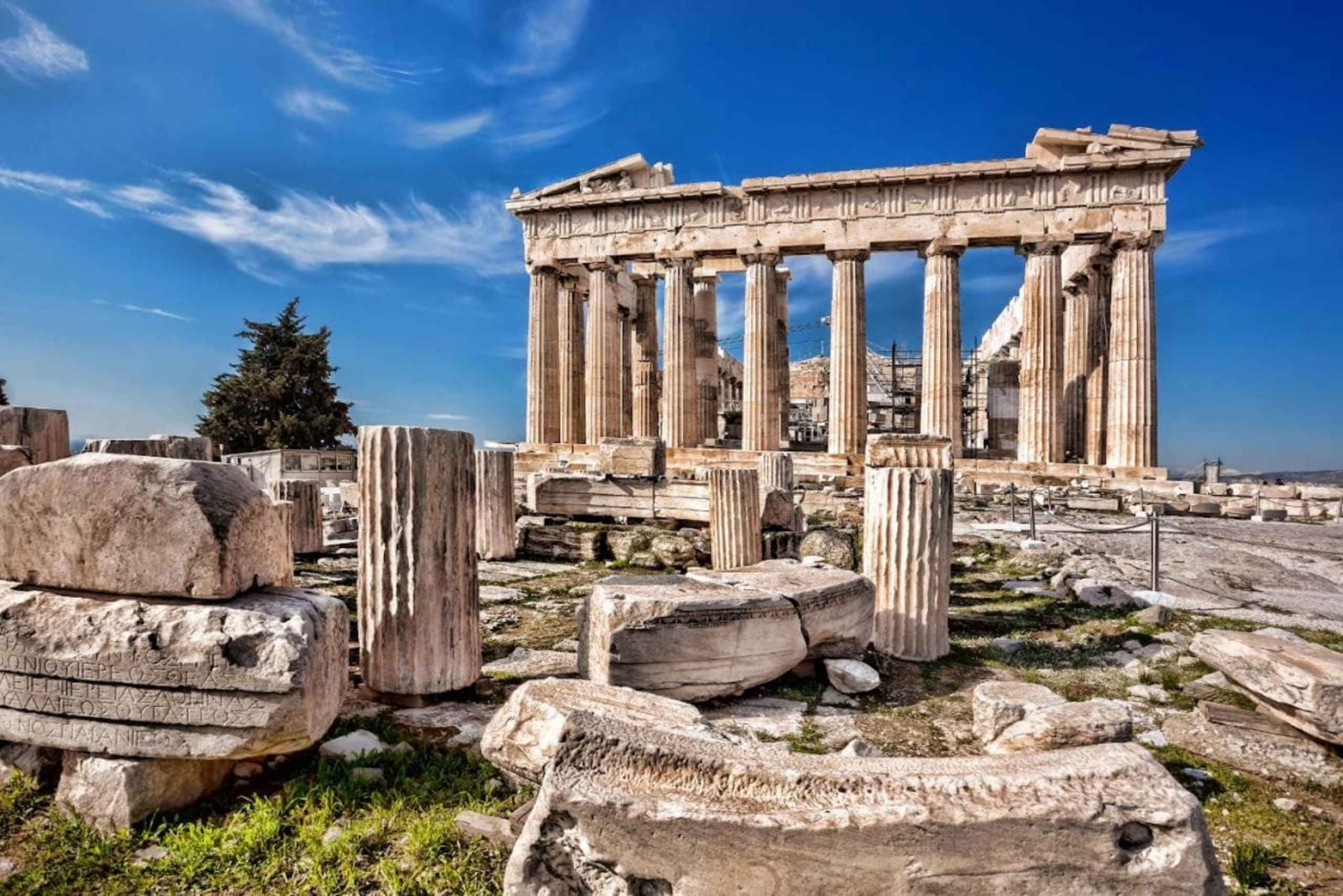 Acropolis Tour with Skip-the-Line Ticket