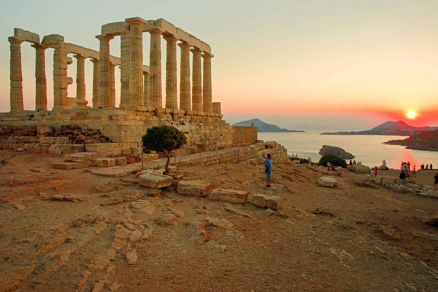 Afternoon at Cape Sounion & Temple of Poseidon