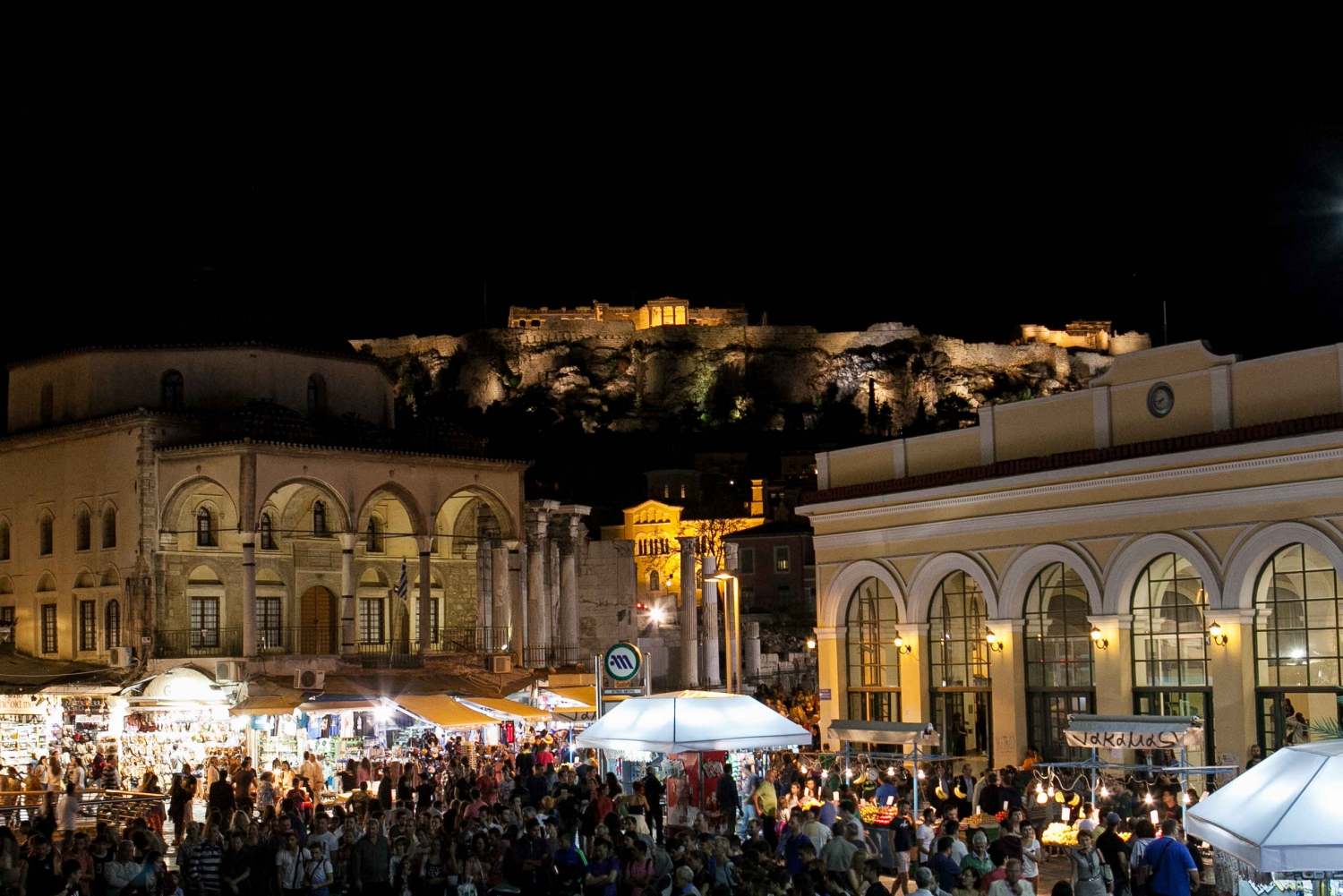Alternative Athens by Night