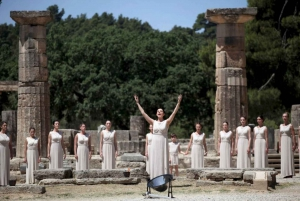 Ancient Olympia and Corinth Canal Private Tour