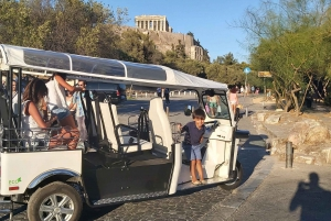 Athens: 1-Hour Private Sightseeing Tour by Electric Tuk-Tuk