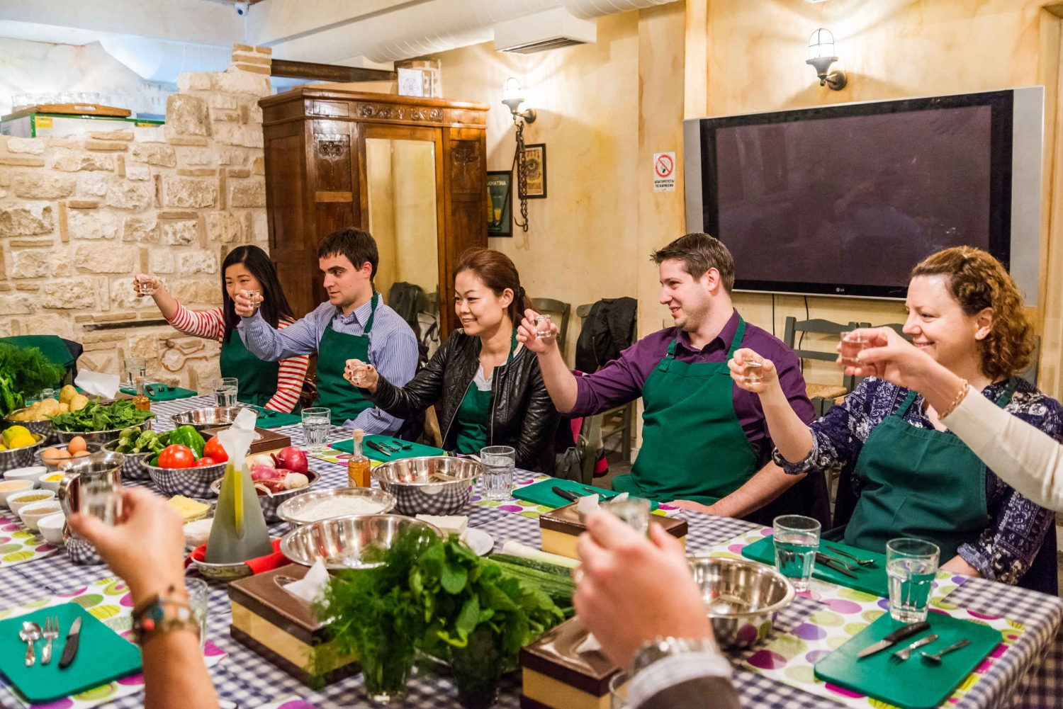 Athens 4-Hour Cooking Lesson & Dinner