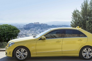 Athens Airport to/from Piraeus Port 1-Way Taxi Transfer