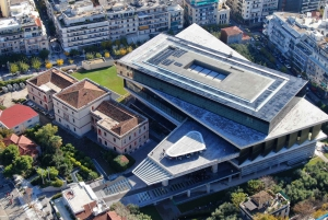 Athens: Blue Hop-On Hop-Off Bus and Acropolis Museum Ticket