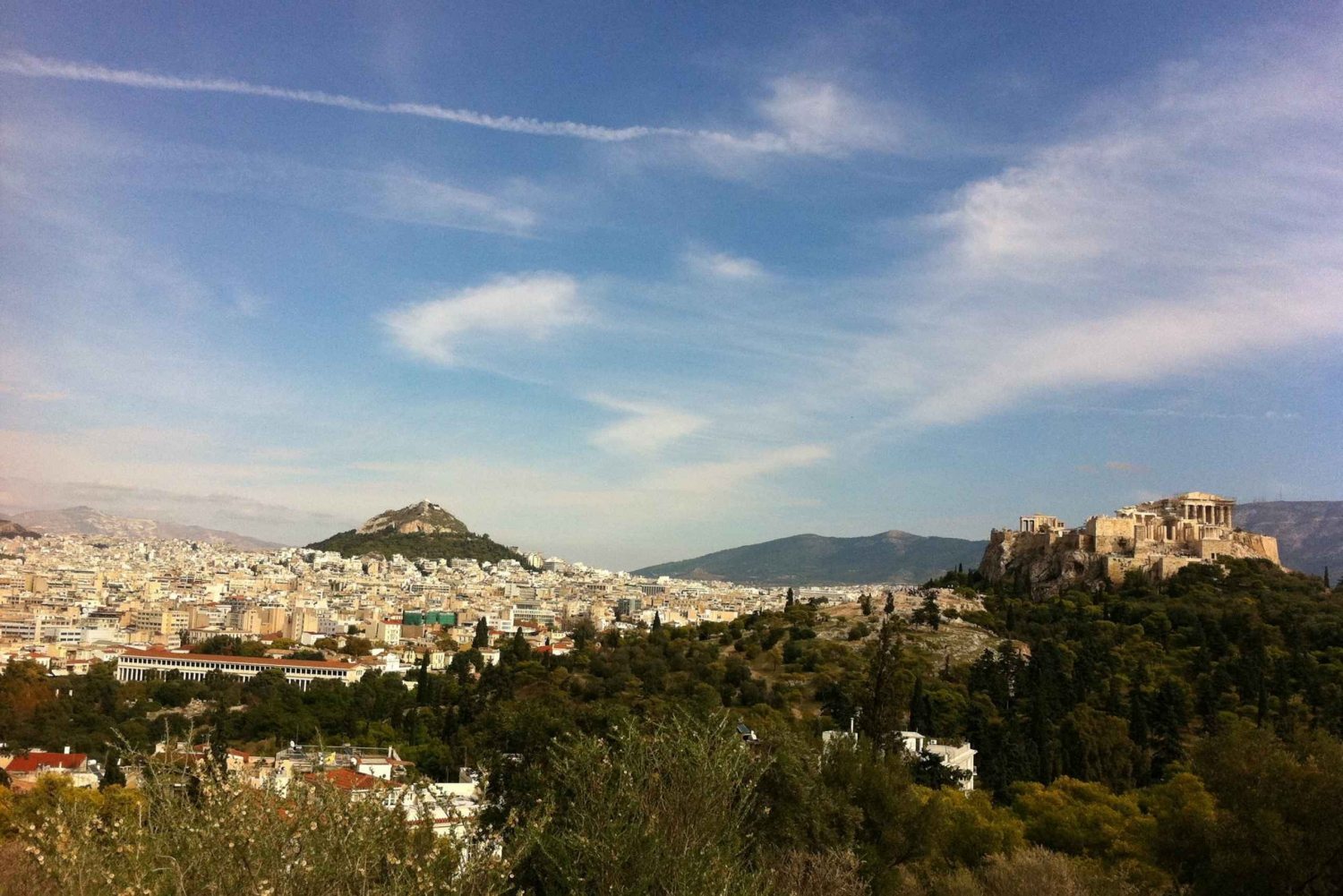 Athens City and Acropolis: 3-Hour Walking Tour