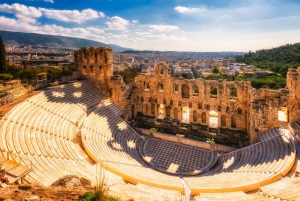 Athens City and Cape Sounio Full Day Private Tour