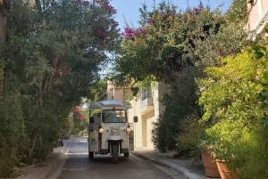 Athens from Piraeus: Private E-Tuk Tuk Half-Day Tour