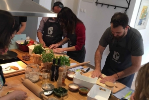 Athens: Greek Cooking Class with Dinner and Wine