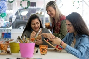 Athens: Greek Sandals Painting Workshop