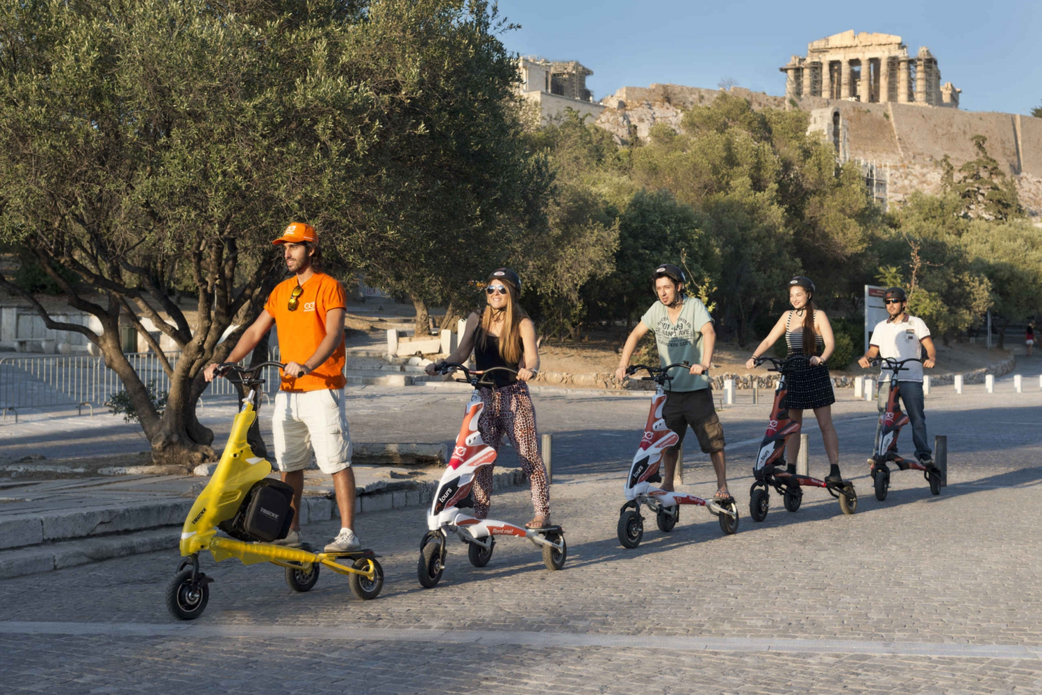 Athens Highlights by Electric Trikke Bike