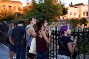 Athens: Highlights Evening Walking Tour and Meze Dinner