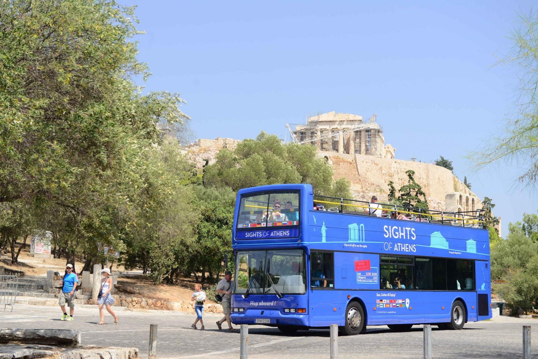 Athens Hop-On Hop-Off Bus & Skip-the-Line Acropolis Museum
