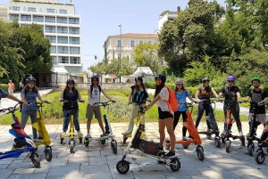 Athens Mystery Tour on Electric Trikke Bikes