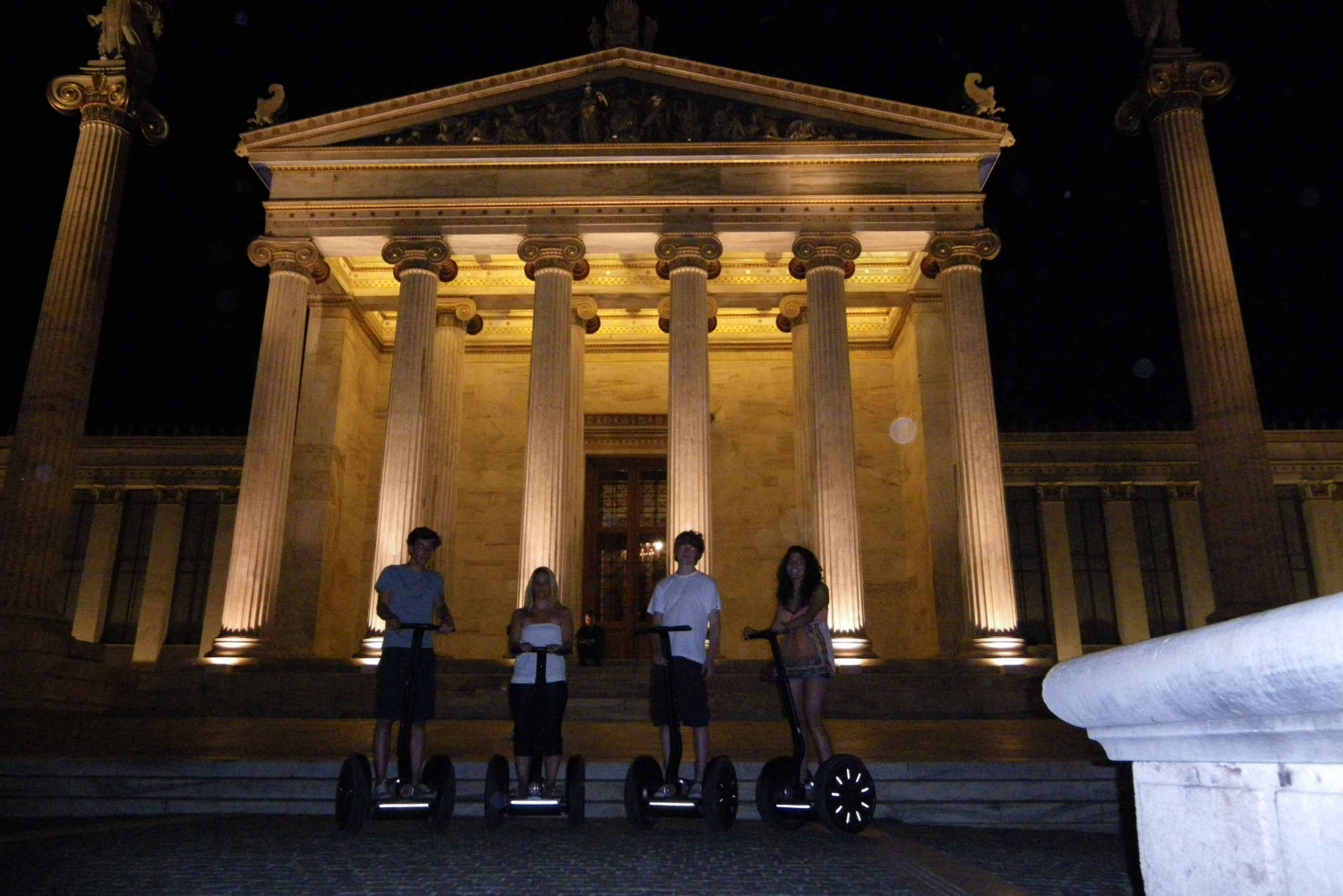 Athens Night Tour: 3 Hours by Segway