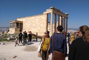 Athens: Old Town & Acropolis Walking Tour