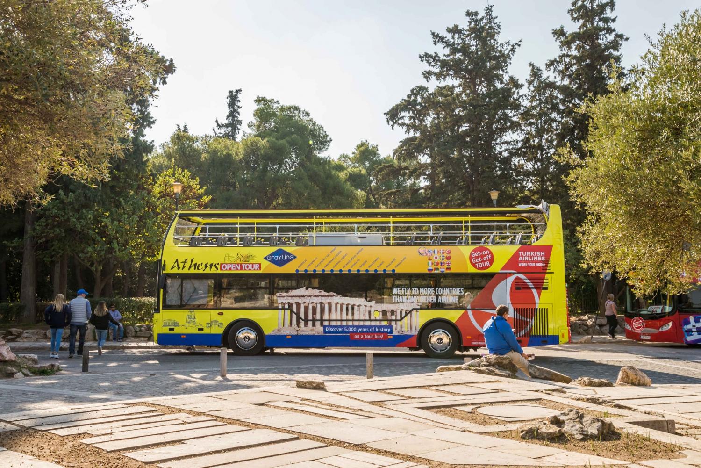 Athens, Piraeus & Riviera & Beaches Hop-on Hop-off Bus Tour